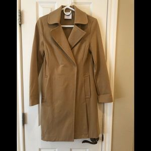Cabi ponte knit trench coat
